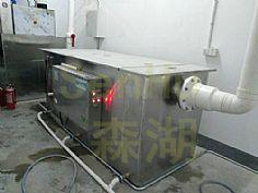 广州和业广场港台餐饮隔油提升一体化设备工程