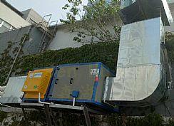 贵州4000风量直排油烟工程